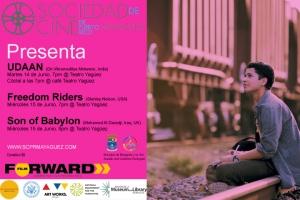 Afiche del Sundance Film Forward en Mayaguez
